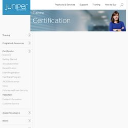 JNCIA-Junos Exam Objectives (Exam: JN0-102) - Juniper Networks