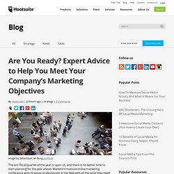 Marketers First Virtual Event: Expert Advice to Help You Meet Your Company's Marketing Objectives