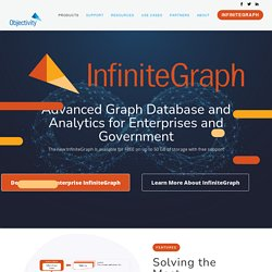 InfiniteGraph, the Distributed Graph Database