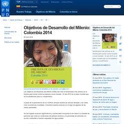 Objetivos de Desarrollo del Milenio: Colombia 2014