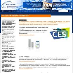 CES 2015 & objets connectés - Captronic