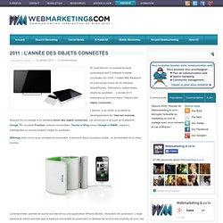 2011 : l'année des objets connectés