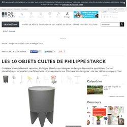 Les 10 objets cultes de Philippe Starck
