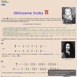 Obliczanie liczby pi