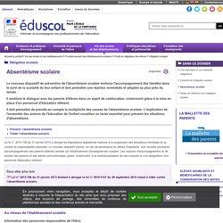Obligation scolaire - Absentéisme scolaire