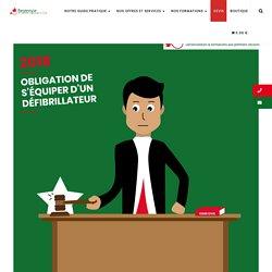 Obligation de s'équiper d'un défibrillateur en 2019 - Restenvie