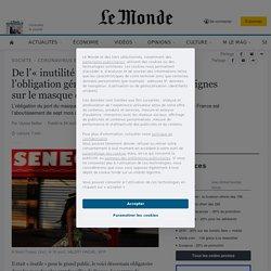 De l'«inutilité» pour le grand public à l'obligation généralisée, sept mois de consignes sur le masque en France