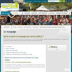 Obligations de l'administration dans ses échanges avec l'usager / Co-marquage / Services en ligne / Territoire / Accueil - Communauté de Communes des Portes Sud du Morvan