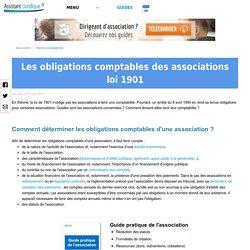 Les obligations comptables des associations loi 1901