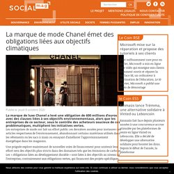 La marque de mode Chanel émet des obligations liées aux objectifs climatiques - Social Mag
