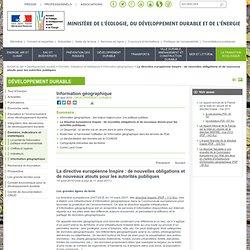 La directive européenne Inspire : de nouvelles obligations et de nouveaux atouts pour les autorités publiques