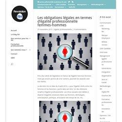 Les obligations légales en termes d'égalité professionnelle femmes-hommes - Revolution-RH