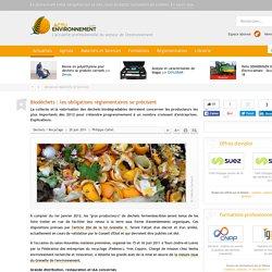 Biodéchets : les obligations réglementaires se précisent