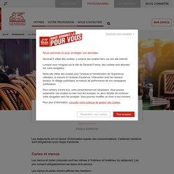 Les obligations légales d'affichage des restaurants