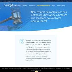 Obligations des entreprises utilisatrices d'intérim : cadre légal