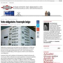 Vote obligatoire: l'exemple belge