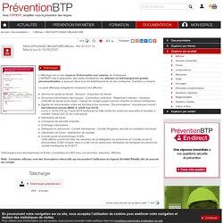 PACK AFFICHAGE OBLIGATOIRE Prévention BTP