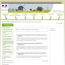 FIMO FCO: Les formations obligatoires des conducteurs routiers - DREAL Centre-Val de Loire