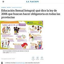 Educación Sexual Integral: qué dice la ley de 2006 que buscan hacer obligatoria en todas las provincias