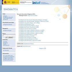 Educación Secundaria Obligatoria (ESO) - WikiDidácTICa