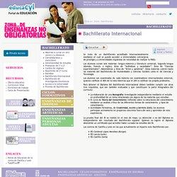 Zona de enseñanzas no obligatorias de la Junta de Castilla y León - Bachillerato Internacional