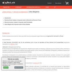Gábilos - libros obligatorios de los empresarios