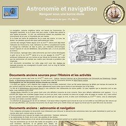 Obs. Lyon - Astronomie et Navigation