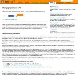 Obsługa przycisków w AVR - EDAP.pl