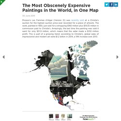 The Most Obscenely Expensive Paintings in the World, in One Map