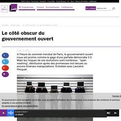 Le côté obscur du gouvernement ouvert