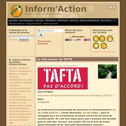 Le côté obscur du TAFTA