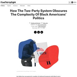 Two-Party Sysstem Obscures Complexity of Race