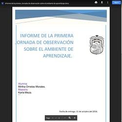 Informe de la primera Jornada de observación sobre el ambiente de aprendizaje.docx