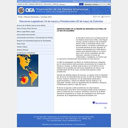 Misión de Observación Electoral en Colombia