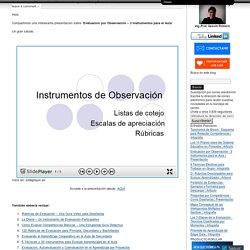 Evaluación por Observación – 3 Instrumentos para el Aula