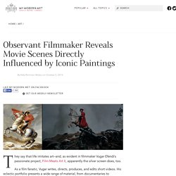 Observant Filmmaker Reveals Movie Scenes Directly Influenced by Iconic Paintings
