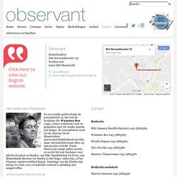 Observant Online > Contact
