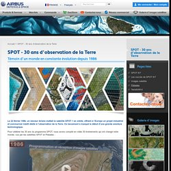 SPOT - 30 ans d'observation de la Terre : Airbus Defence and Space