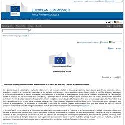 Copernicus: le programme européen d'observation de la Terre est bon pour l'emploi et l'environnement