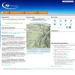 Observatoire de l'air, ATMO Rhone-Alpes