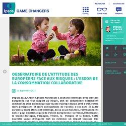 Observatoire de l'attitude des Européens face aux risques : l'essor de la consommation collaborative