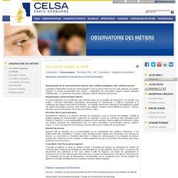 Observatoire des métiers - Communication