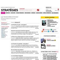 Observatoire des MOyens de Communication - Stratégies.fr