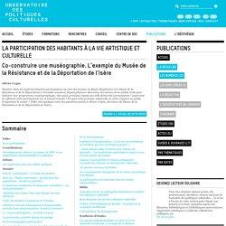 Co-construire une muséographie : exemple du musée Résistance/Déportation