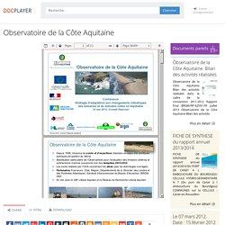 ⭐Observatoire de la Côte Aquitaine