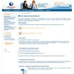 L'observatoire de l'emploi - Les rapports dynamiques