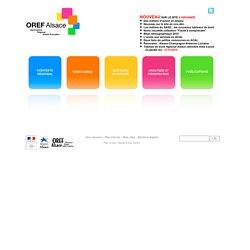 OREF ALSACE - Observatoire Régional Emploi Formation
