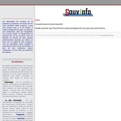 Observatoire de la gouvernance de l'information
