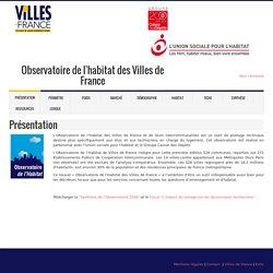 Observatoire de l'habitat des Villes de France. obshabitatvdf.eohs.info