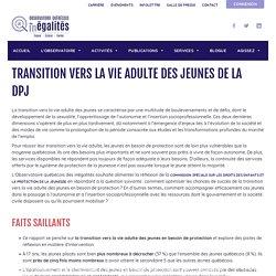 Pierre - Observatoire québécois des inégalités - transition vie adulte des jeunes en besoin de protection